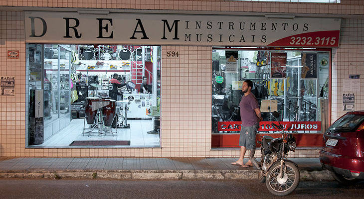 Loja da Dream Instrumentos Musicais em Pará de Minas